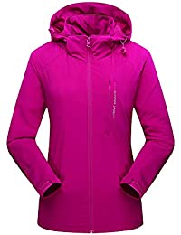 Amazon.it  Rosa - Giacche sportive e tecniche   Abbigliamento ... d162b1804869