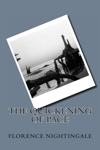 The quickening of pace - Florence Antique Print