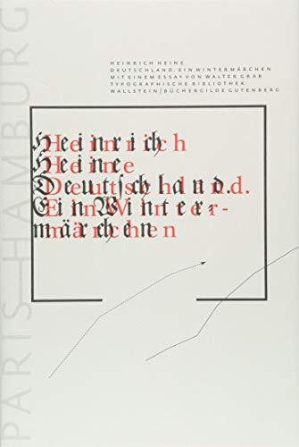 Deutschland: Ein Wintermärchen (Typographische Bibliothek)
