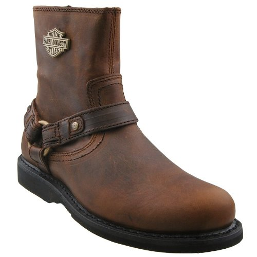 Harley Davidson Herren Biker Boots, Braun, 43 EU