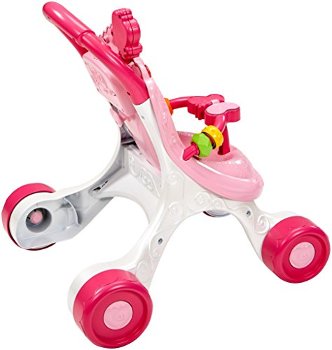 Fisher-Price CGN65 Princess Mommy Stroll-Along Musical Walker