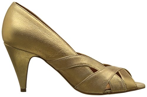 Schmoove Odissey Cross, Escarpins Bout Ouvert Femme Or (Oro)