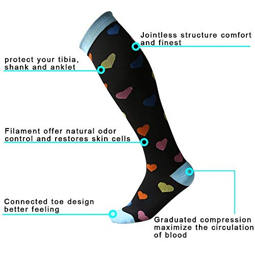 Graduated-Compression-Socks-for-Women-Men-20-30-mmHg-Moderate-Compression-Stockings-For-Running-Crossfit-Travel-Suits-Nurse-Maternity-Pregnancy-Shin-Splints