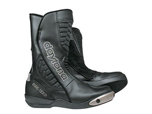 Daytona Boots Motorradschuhe, Motorradstiefel lang Strive GTX Sportstiefel schwarz 43, Unisex, Sportler, Ganzjährig, Leder