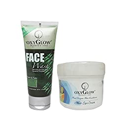 Oxyglow Hair Spa Cream 2 With Neem & Tulsi Face Wash