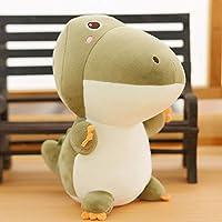 yfkjh Plush toys, dolls cute, dinosaur dolls, girl heart hippo dolls 23cm or so Crocodile
