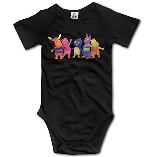 Kostüm Backyardigan - fenglinghua Babybody The Backyardigans Baby Girls/Boys Short Sleeve One-Piece Tops