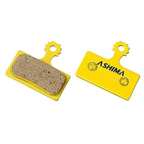 Ashima paire de plaquettes Disque céramiques ad0106-ce Plaquettes Shimano XTR/XT/SLX (Cycle)/Disc Bracke Pads Set Ceramic ad0106-ce Shimano XTR/XT/SLX (disc brake pads Bike)