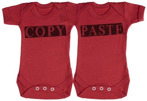 TRS - Copy & Paste Twin Set regalo para bebé, body para bebé niño,