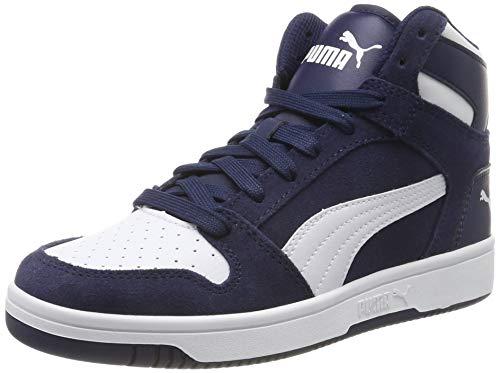 Puma Rebound Layup SD', Sneaker Unisex-Adulto, Blu (Peacoat White), 46 EU