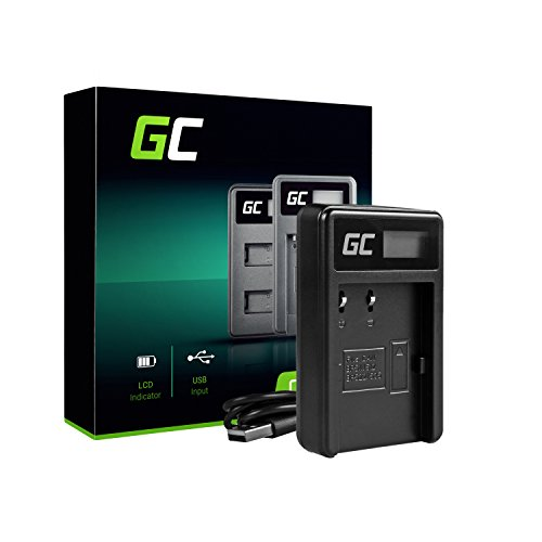 Green Cell Ladegerät für Canon Optura 200MC Kamera (0.6W 8.4V 0.6A Schwarz) -