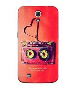 PrintVisa Designer Back Case Cover for Samsung Galaxy Mega 6.3 I9200 :: Samsung Galaxy Mega 6.3 Sgh-I527 (Warm Heart)