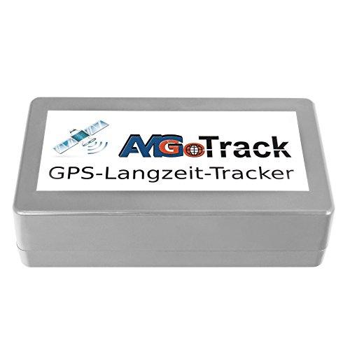AMG Langzeit GPS Tracker, 6 Monate Akkulaufzeit, Live Ortung, unauffälliges Design (Grau)