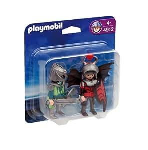 Playmobil - 4912 - Jeu de construction - Playmobil Duo Chevaliers dragons