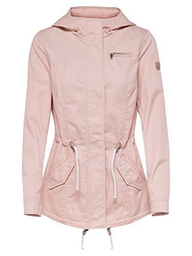 ONLY Damen Onlnew Lorca Spring Parka Jacket CC Otw, Rosa (Cameo Rose Cameo Rose), 40 (Herstellergröße: L)