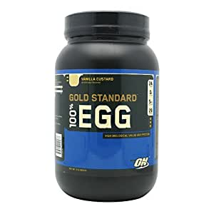 Optimum Nutrition 100% Egg Protein Vanilla Custard Powder 909g