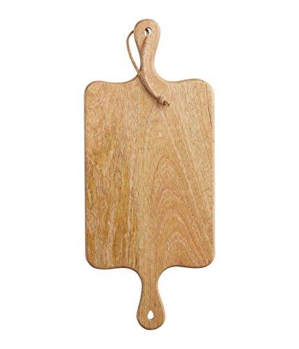 Kitchen Craft Master Class Rectangular Doble Tabla de Madera Mango con función Atril y asa
