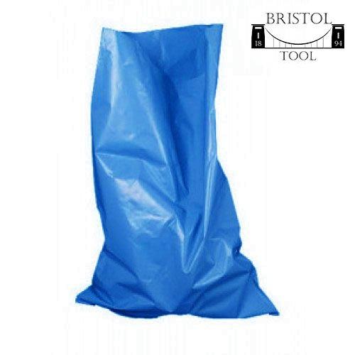 100sacchi. 1confezione da 100delfino grigio Rubble Sacks 350gauge by Bristol Tool Company