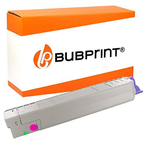 C830 Magenta Toner (Bubprint Toner kompatibel für Oki 44059106 für C810 C830 Series C810CDTN C810DN C810N C830CDTN C830DN C830DTN C830N 8.000 Seiten Magenta/Rot)