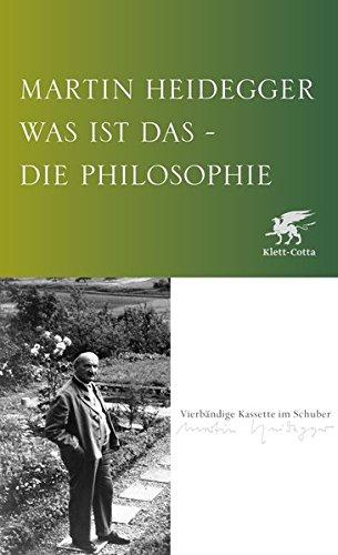 Was ist das - die Philosophie?: Kleine Schriften / Aus der Erfahrung des Denkens; Bauen Wohnen Denken; Der Satz vom Grund; Unterwegs zur Sprache