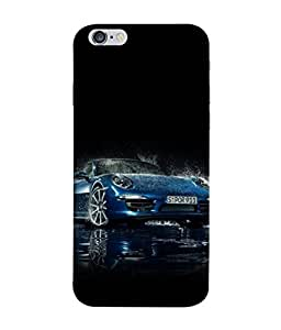 Snapdilla Designer Back Case Cover for Apple iPhone 6 Plus :: Apple iPhone 6+ (Auto Vechile Drive Coupe Race Power Wallpaper)