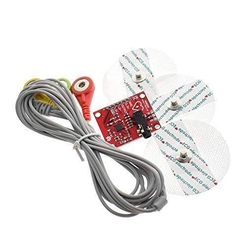 ECG Modul AD8232 EKG Messung Puls Herz EKG Monitoring Sensor Modul Kit für Arduino