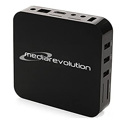 Media Revolution Android MX2 Smart TV Streaming Box, Dual Core Rooted Jailbroken IPTV Stream Box Fully Loaded XBMC Android 4.2 Full HD 1080P