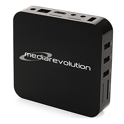 Media Revolution Android MX2 Smart TV Streaming Box, Dual