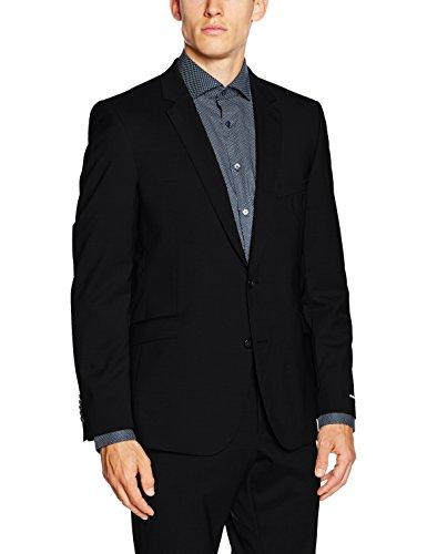 Strellson Premium L-Allen, Veste de Costume Homme Noir - Schwarz (Schwarz 110)