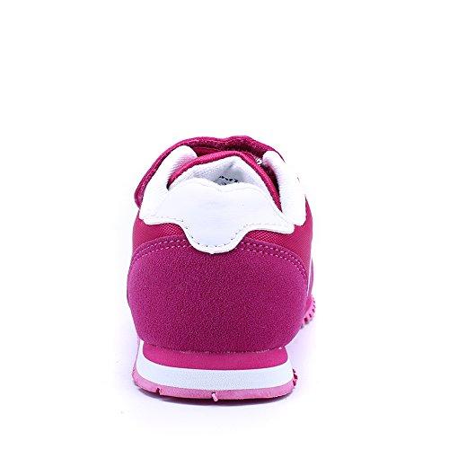 Santiro Mixte Enfants Chaussures Basses Garçon Fille Chaussures Décontractées. Rose