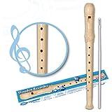 SIGMA RGW33 Flûte à bec en bois 32 cm