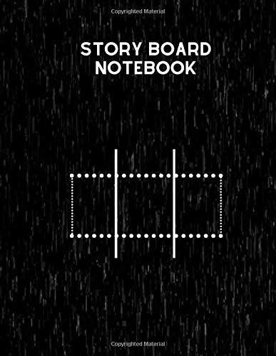 : Clapperboard and Frame Sketchbook Log Book Guide Template Panel Pages Book and 4 Frames Per Page For Movie Making Gift For Movie ... Pages (Film Writing & Sketching Log, Band 36) ()