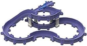 Tomy Chuggington - LC54313 - Circuit de Trains Miniatures et Rails - Coffret d'extension Rails et Plots Élévateurs Chuggington