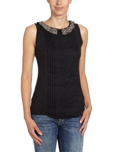 Vila Clothes Top, 14010004brutta Top Noir (Black)