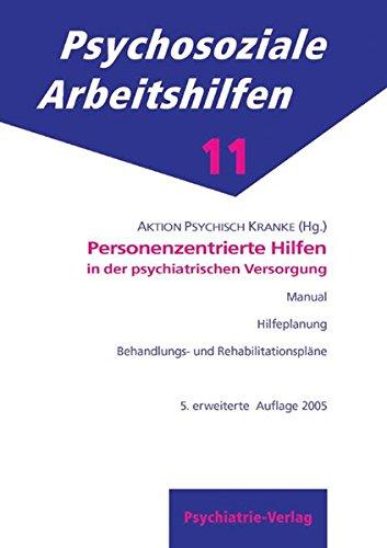Cover »Der personenzentrierte Ansatz in der psychiatrischen Versorgung«