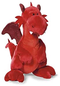 Nici 34107 - Drache stehend 20 cm, rot