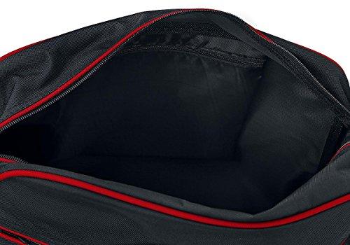 BagBase Retro Shoulder Bag Borsa a tracolla nero/rosso nero/rosso