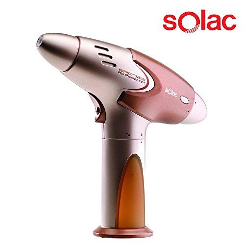 Air perfection! la tua nuova pistola autoabbronzante con tecnologia micro spray - include lozione abbronzante da 150ml, utilizzabile con tutte le lozioni delle migliori marche in commercio - auto abbronzante nebulizzatore per viso, gambe e corpo per abbronzatura perfetta - 7855