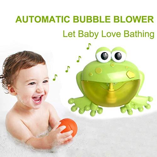 Mitlfuny Schwimmenden Boot Badespaß Zeit Großes Geschenk Bath Toys für Baby,Bubble Machine Badewanne Froggle Automatisches Gebläse 12 Musiklied Bad ()