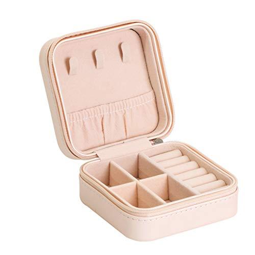 Preisvergleich Produktbild Rolin Roly Schmuckkästchen Klein Schmuckbox Reise Jewelry Box (Bare Pink)