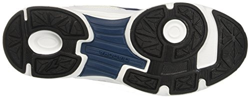 Diadora Unisex-Erwachsene Shape 7 Laufschuhe Elfenbein (Bianco Ottico/blu Estate)