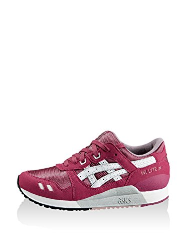 Asics Gel-Lyte Iii Gs, Baskets Basses Mixte Enfant Malaga / White