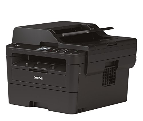 Brother MFC-L2730DW Kompaktes 4-in-1 S/W-Multifunktionsgerät (Drucken, Scannen, Kopieren, Faxen, A4, echte 1.200x1.200 dpi, Duplexdruck, 250 Blatt Papierkassette, USB 2.0, LAN, WLAN, Touchscreen)