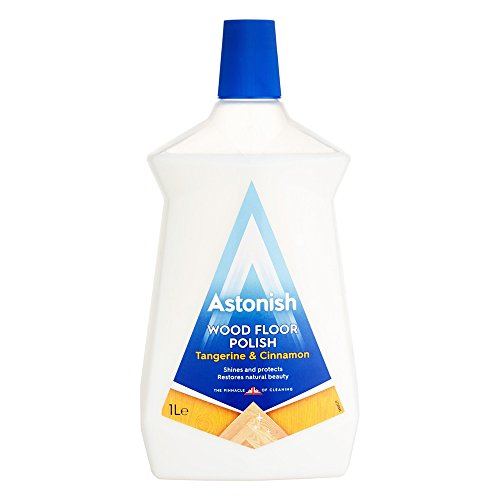 Astonish Flawless Tangerine & Cinnamon Wood Floor Polish 750ml by Astonish