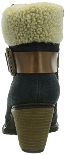 Rieker - Z1550-14, Stivali Donna Blu (Blau (pilot/mogano/beige / 14))