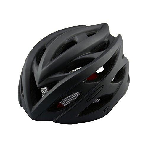 Ocamo Fahrradhelm mit Licht Road Fahrrad Schutz Hat Cap Mountain Bike Helm für Erwachsene