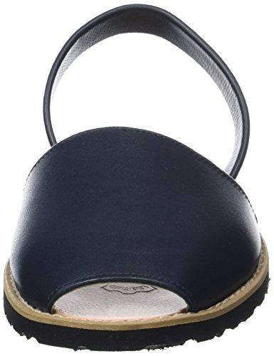 Minorquines Avarca, Scarpe Col Tacco con Cinturino a T Donna Bleu (Azul1)