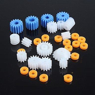tipi-di-ingranaggi-in-plastica-parti-motoriduttore-robot-model-kit-fai-da-te