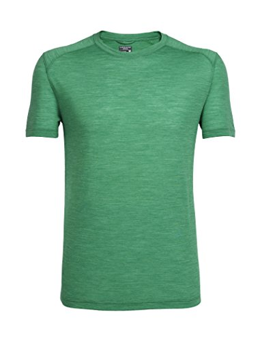 Icebreaker Herren Sphere SS Crewe T-Shirt, Cricket Hthr, XL