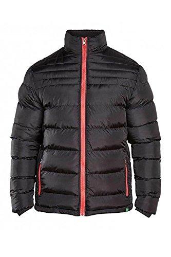 Duke London Herren Steppjacke Jacke schwarz schwarz One size Gr. XXL, schwarz (Tall Kingsize-mens Big Jacke And)